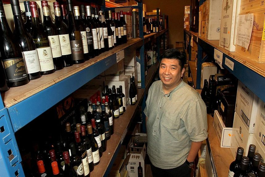 Mr Tan Wee Lee, managing director of Grape Palate, will showcase a special selection of wines at the ST Wine Fair@The Centrepoint.