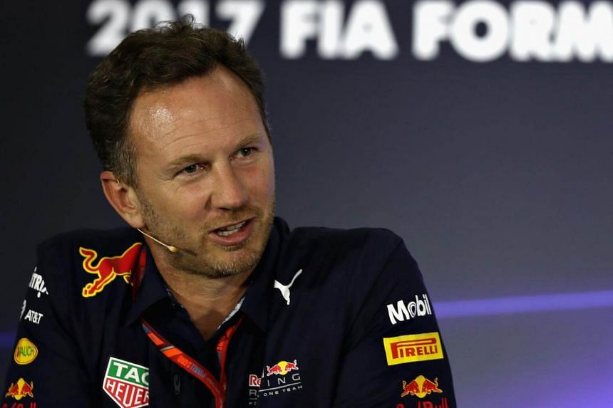 Red Bull Racing Team Principal Christian Horner in the Team Principals Press Conference at Autodromo Hermanos Rodriguez.