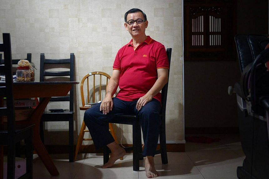 Mr Wong Kee Soon, the chairman of Adullum Life Counselling, helps people deal with loanshark harassment and, because of his colourful history, isn't afraid to meet loansharks face to face to get his clients out of their grasp.