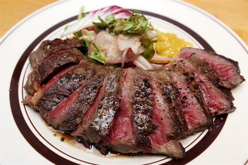 ​One of the star offerings at Grub is the New York strip, which offers velvety soft meat that is tender to the bite.