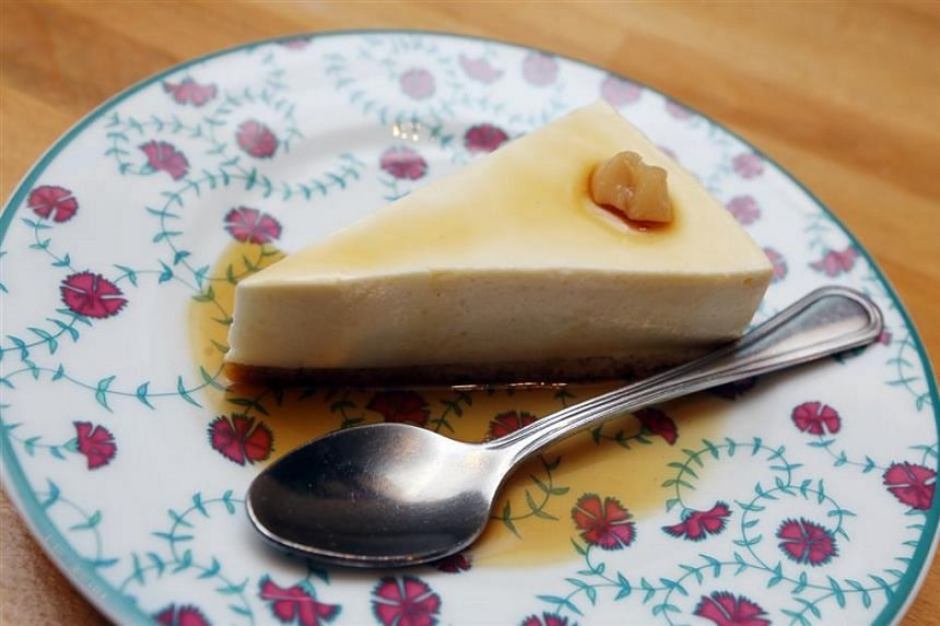 The taufu fah cheesecake is sublime – satin-soft tofu atop a base of digestive biscuits.