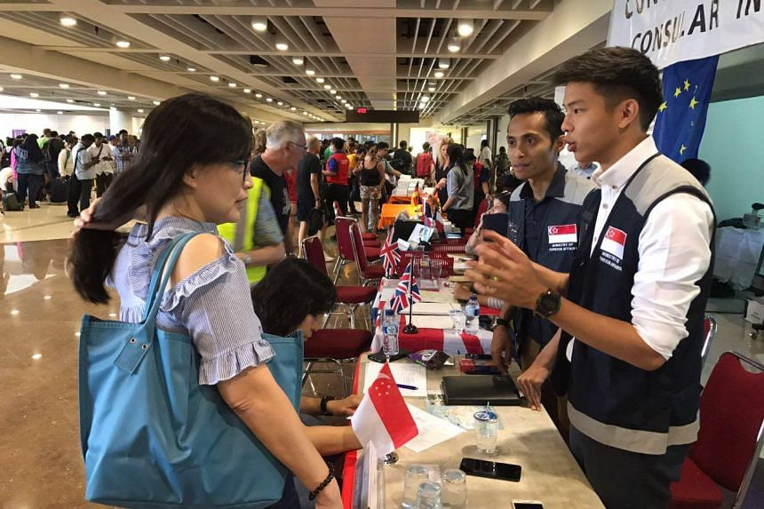 The Ministry of Foreign Affairs has deployed a Crisis Response Team (CRT) at Bali's Ngurah Rai International Airport to provide consular assistance to Singaporeans affected by the airport's closure.
