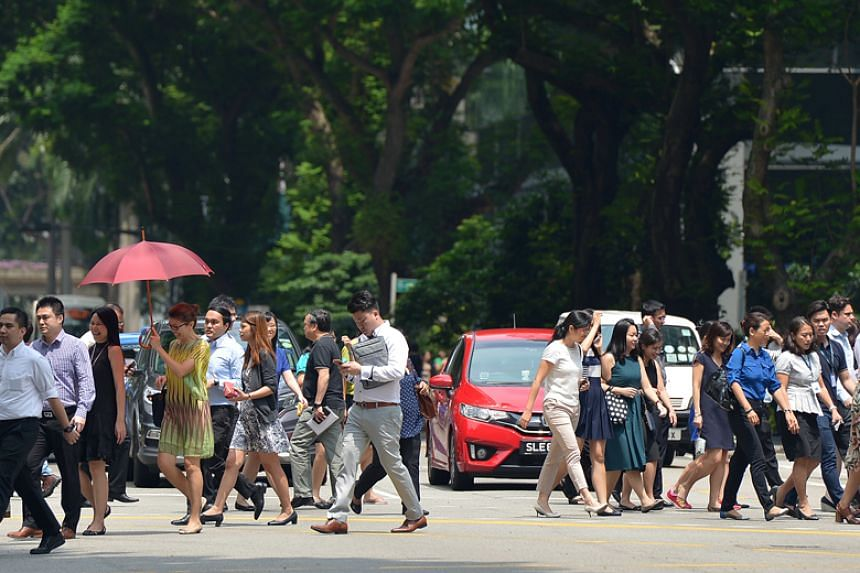 Singapore's economy is projected to grow by 3 per cent to 3.5 per cent for the whole year.