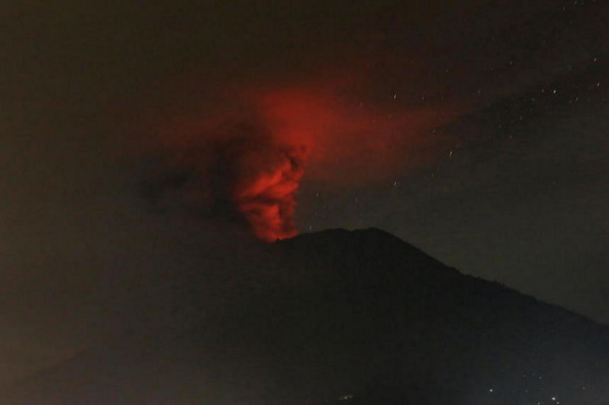 In 1963, the Mount Agung volcano on the Indonesian island of Bali erupted three times, after being dormant for 120 years.
