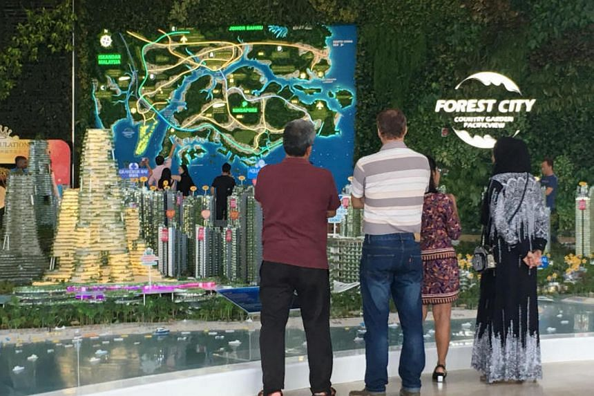 A Johor politician told the state assembly that the Johor government had told developer of the Forest City project to source for its own water supply.