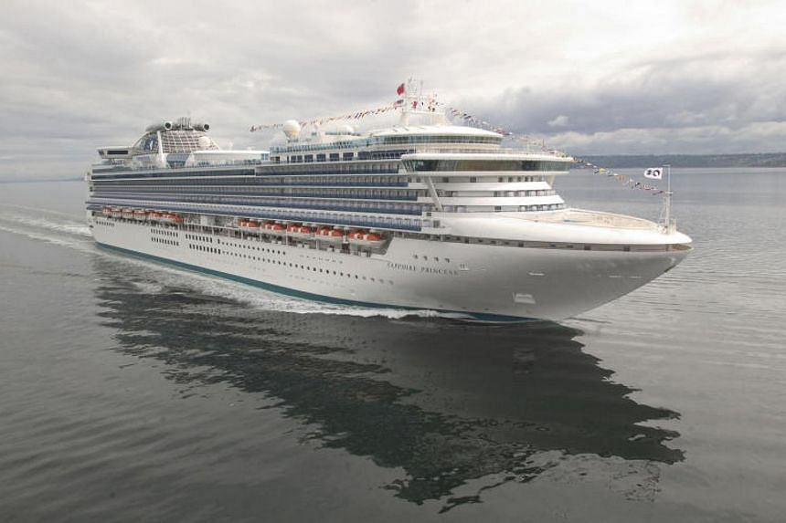 Princess Cruises' liner Sapphire Princess is able to accommodate up to 2,670 passengers and 1,000 crew members.