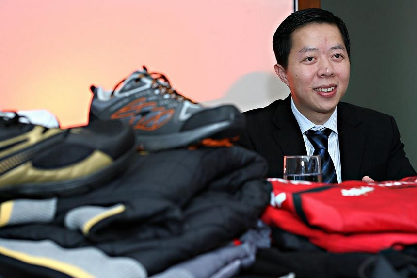 China Sports International CEO Lin Shaoxiong (pictured, in 2007) was away on a business trip was away during the time of the cash audit, preventing auditors from making the observations required.