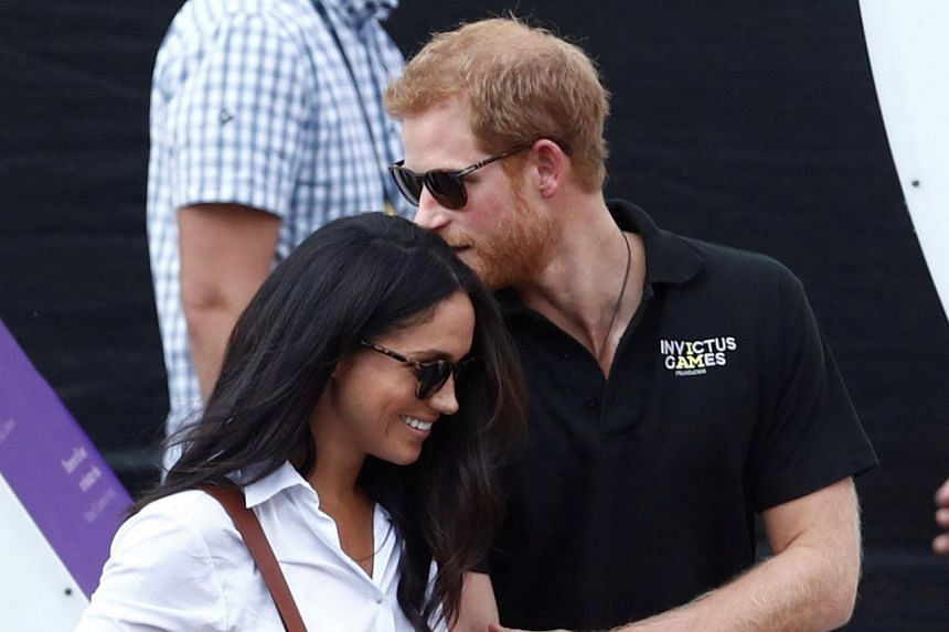 Britain's Prince Harry (right) is engaged to his US actress girlfriend Meghan Markle (left) with the marriage due to take place in the spring of 2018.