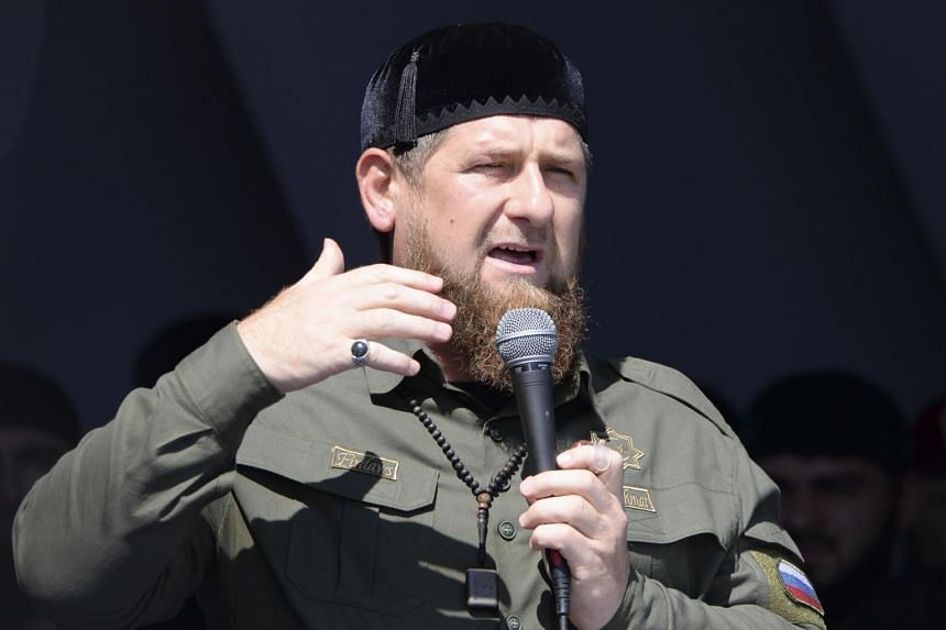 Ramzan Kadyrov, the outspoken leader of Russia's Chechnya republic, said he was ready to step down, leaving it for the Kremlin to choose his successor.