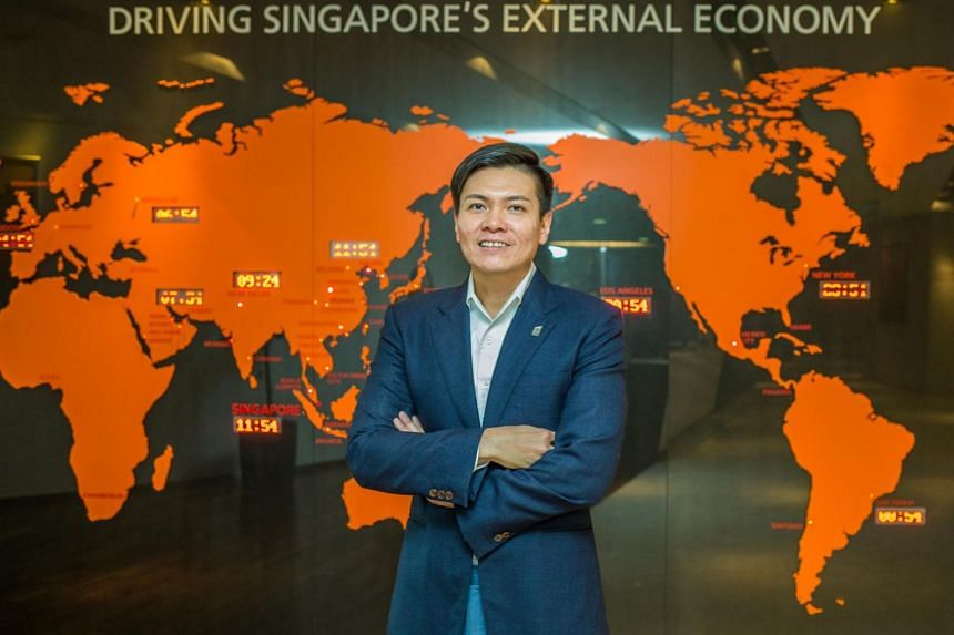 Lee Ark Boon, IE Singapore's new chief executive.