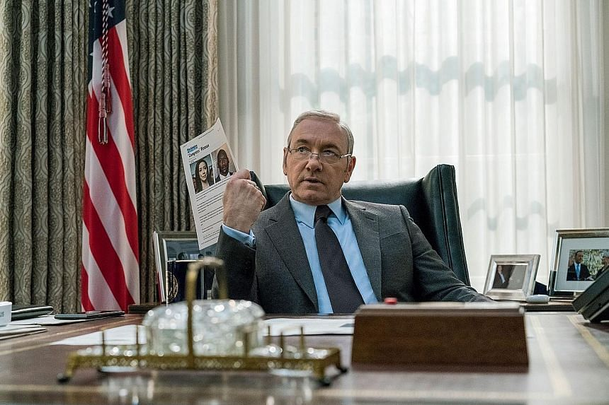 The upcoming sixth season of political drama House Of Cards, which will no longer star Kevin Spacey (left), will be the show's last.