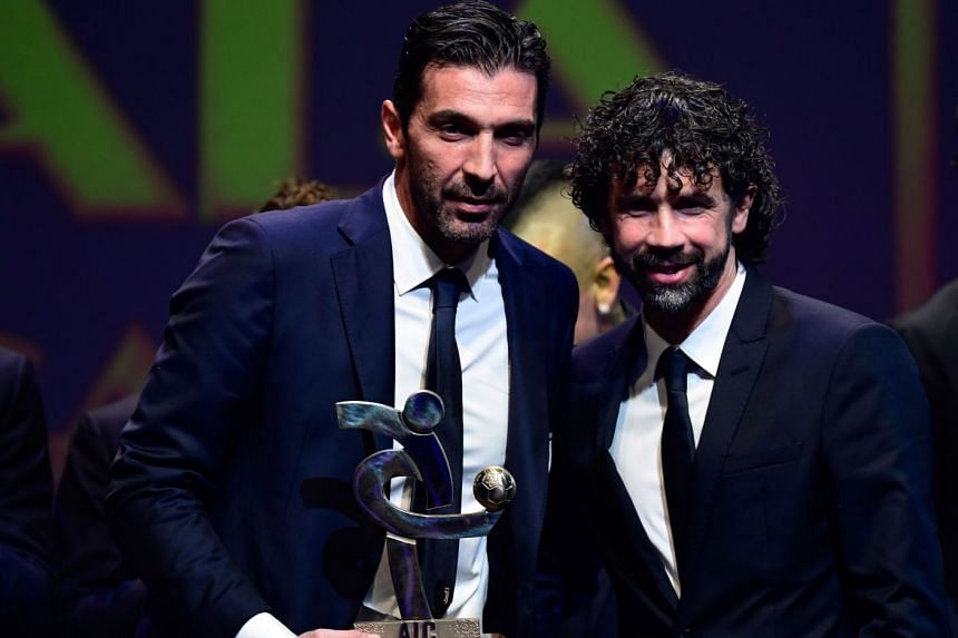 Football: Italy legend Buffon wins Serie A best player award, hints he may  return to Azzurri, Football News & Top Stories - The Straits Times