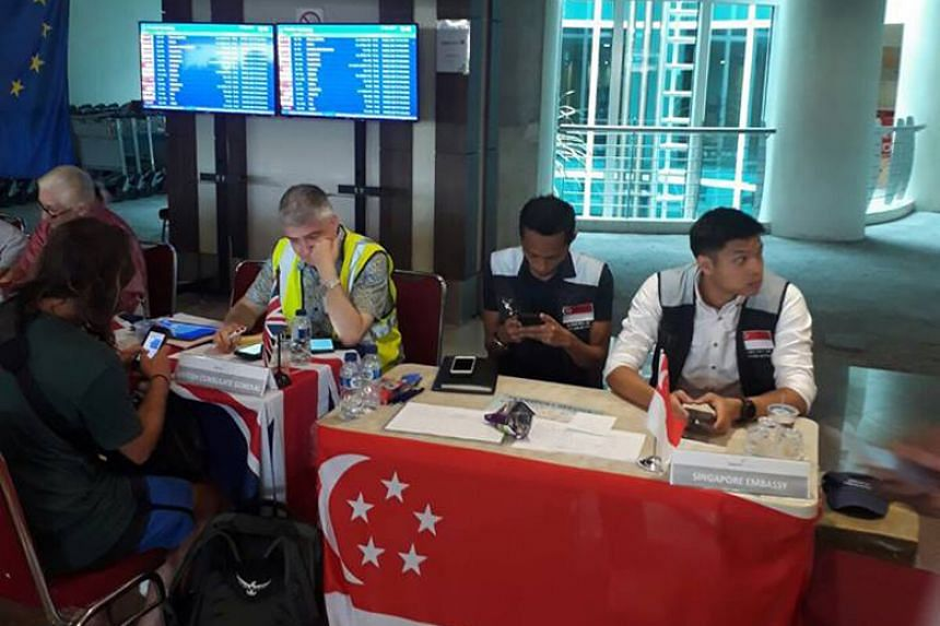 The Ministry of Foreign Affairs has deployed a Crisis Response Team at Bali's Ngurah Rai International Airport to provide consular assistance to Singaporeans affected by the airport's closure.