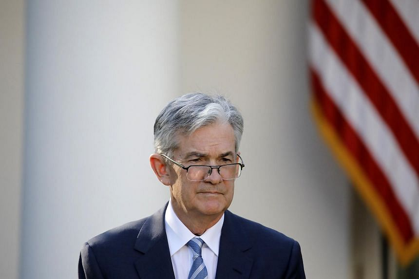 Mr Jerome Powell, US President Donald Trump's nominee to become chairman of the US Federal Reserve, at the announcement event, on Nov 2.