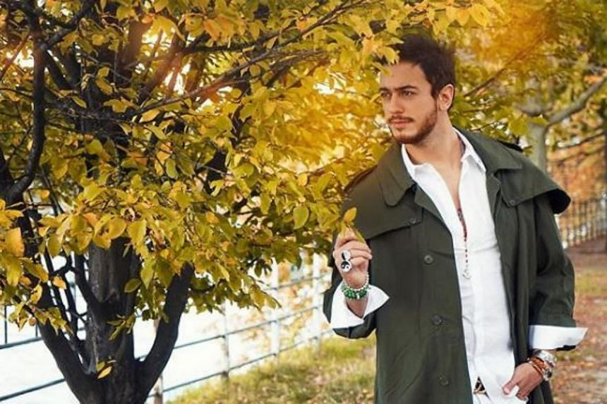 Ms Laura Prioul, 21, accused Moroccan pop star Saad Lamjarred of beating and raping her in a Paris hotel in 2016.