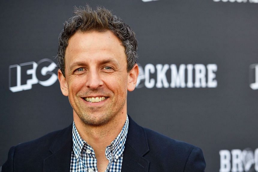 It will be the first Golden Globes hosting gig for talk show host Seth Meyers.