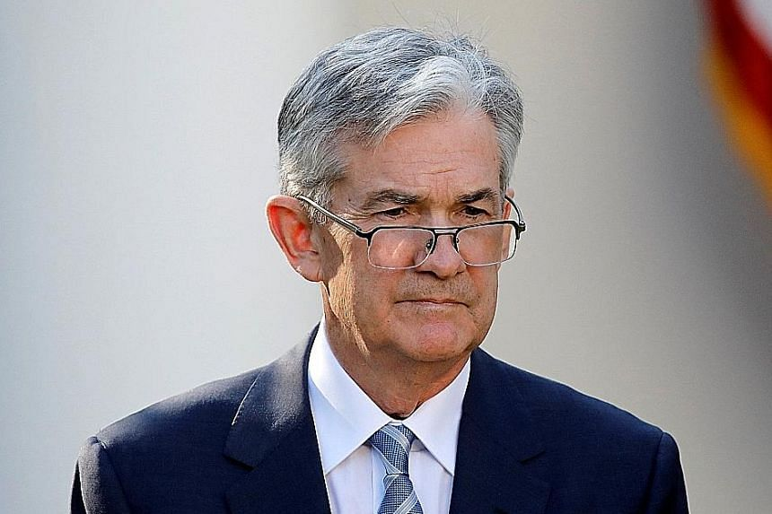 Mr Jerome Powell echoed the Federal Reserve's many statements on the path of monetary policy and said interest rates are likely to rise a bit more.