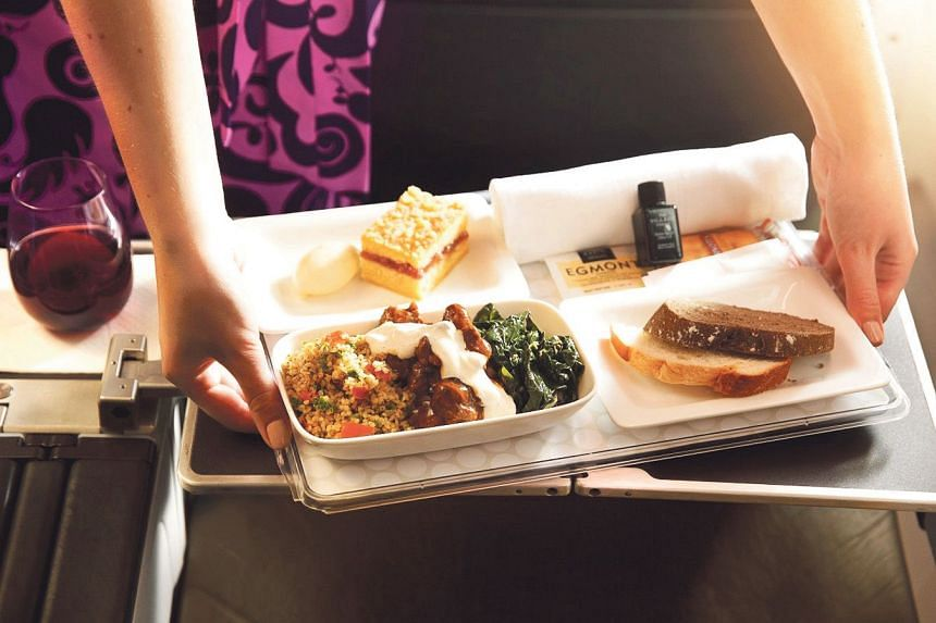 Chefs Peter Gordon and Michael Meredith inject Maori hospitality into inflight cuisine.