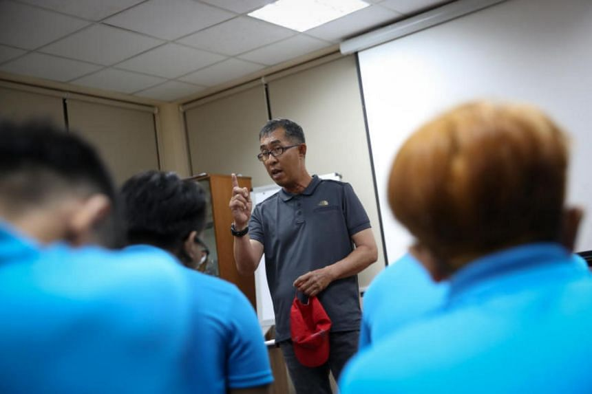 Former inmate Michael Teoh shared the story of how he rebuilt his relationships with his stepfather and biological father after he was released from prison in 1988.