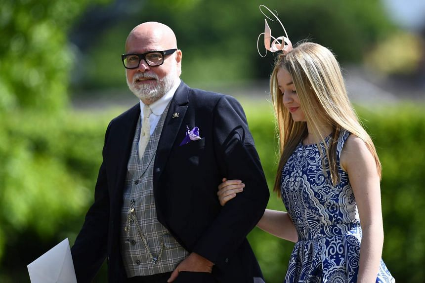 Gary Goldsmith attending the wedding of Pippa Middleton and James Matthews in a May 2017 file photo.