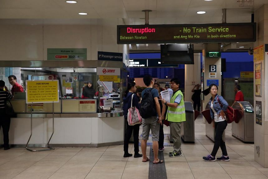 SMRT said that it had found 13 staff responsible for failing to maintain an anti-flooding system, which led to the tunnel between Bishan and Braddell stations becoming flooded on Oct 7, causing a major service disruption.