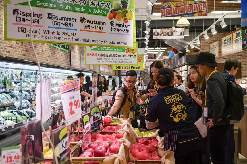 The double-storey 1,397 sqm Don Don Donki store will feature an eclectic mix of products that are all either from or produced in Japan.