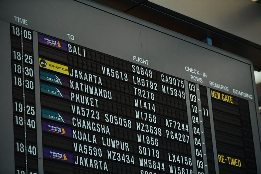 Singapore Airlines will resume its flights to Denpasar airport in Bali with the next flight out - SQ948 - at 6.05pm on Wednesday evening.