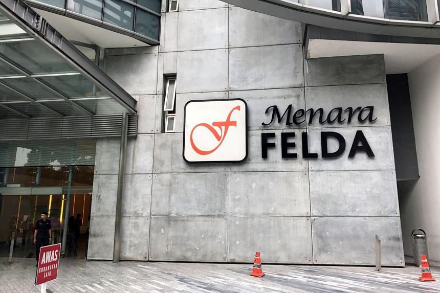Felda headquarters outside Malaysia's capital Kuala Lumpur.