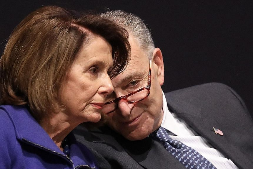 Democratic leaders Nancy Pelosi and Chuck Schumer told Mr Donald Trump they would not attend the meeting on Tuesday.