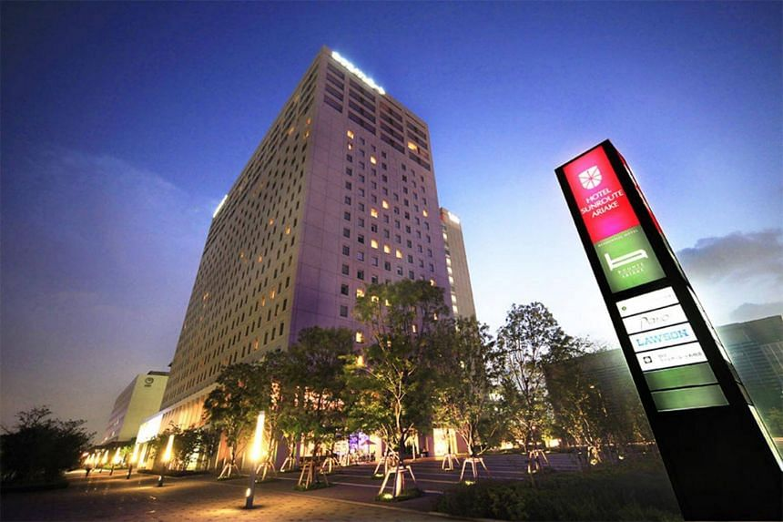 The property is a dual-brand accommodation comprising of Hotel Sunroute Ariake (above) and Oakwood Apartments Ariake Tokyo.