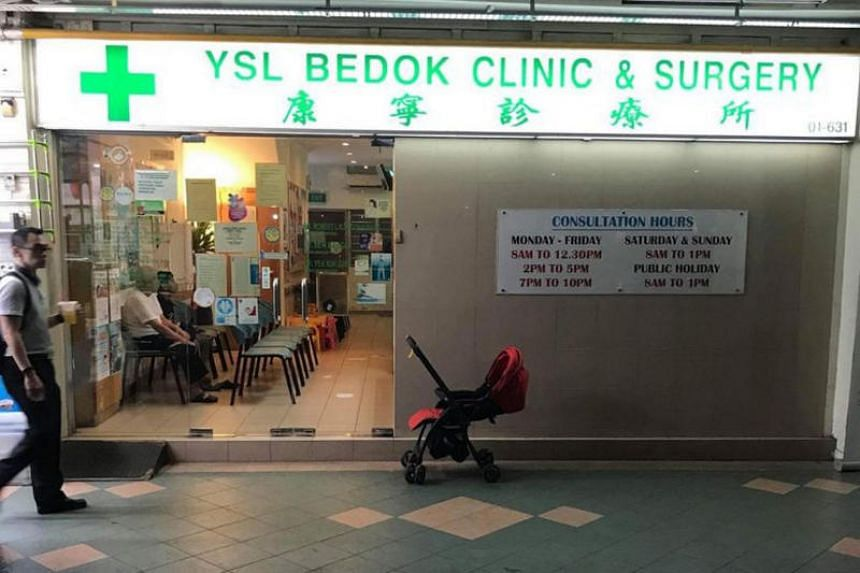 Belinda Lum, 33, and her 14-month-old son were seen by a doctor at YSL Bedok Clinic and Surgery, and given a bottle of Fedac syrup, with instructions to take 10ml of the medicine three times a day.