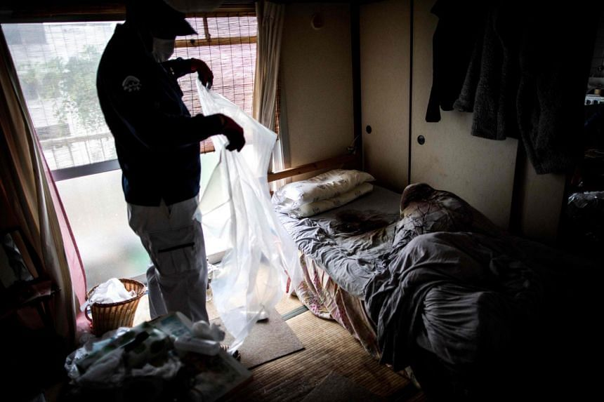 """""""Kodokushi"""" or """"dying alone"""" is a growing problem in Japan, where 27.7 per cent of the population is aged over 65 and many people are giving up trying to find partners in middle age, opting instead for a solitary existence."""