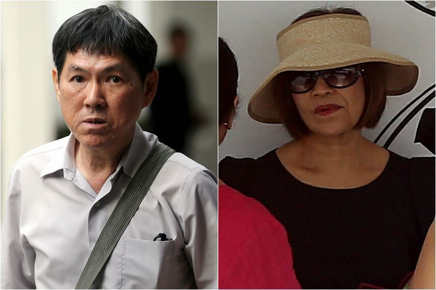 Keppel Club's supervisor, Nah Hak Chuah (left), and a club member, Ivy Cheo Soh Chin, both 67, were convicted for their roles in a membership scam.
