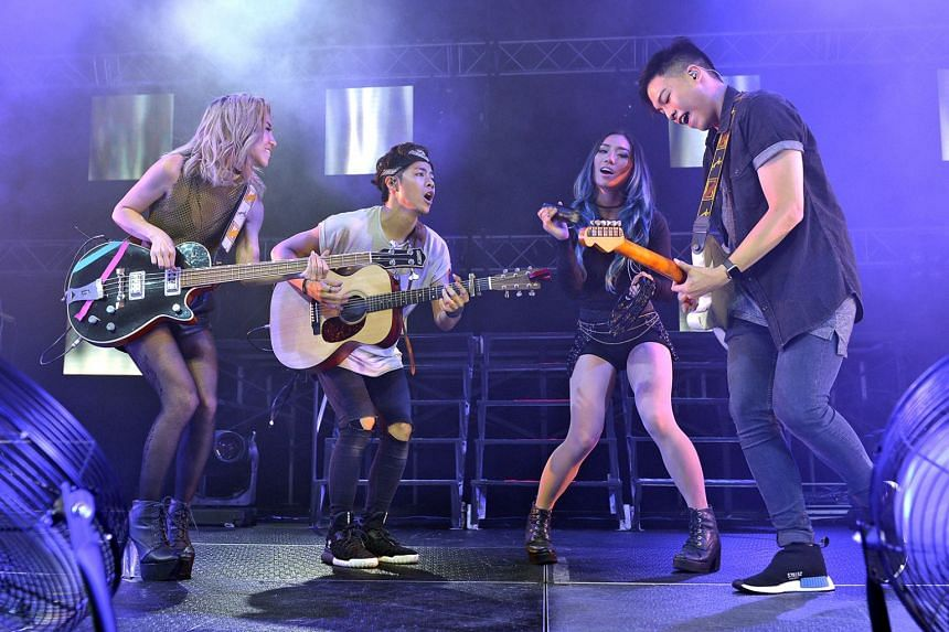 Pop band The Sam Willows won Best Song for Save Myself at the NEXT Music Awards, a new local initiative that recognises new pop artists who sing in the four main languages.