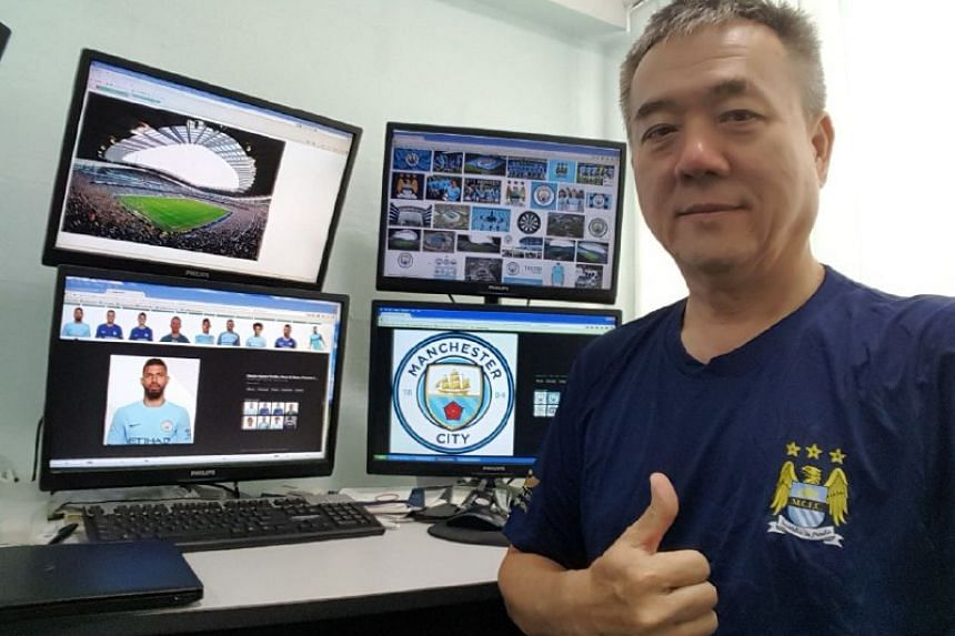 Manchester City fan Kee Siak Hooi will get the chance to watch his team in action at the Etihad Stadium on Dec 16 against Tottenham Hotspur.