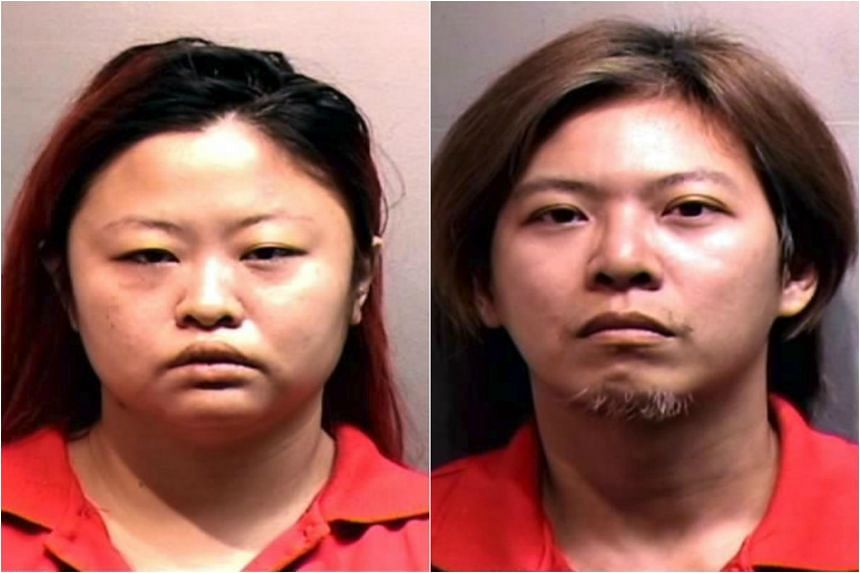 Tan Hui Zhen (left) was sentenced to 16½ years' jail, and her husband Pua Hak Chuan was given 14 years' jail and 14 strokes of the cane.