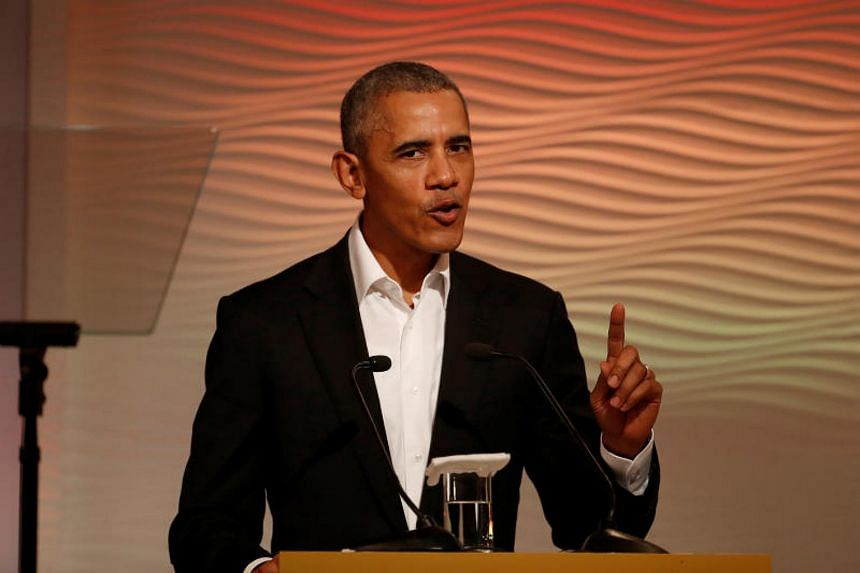 """Former US president Barack Obama also said he has become """"obsessed"""" with the way news is handled and consumed, particularly by the young."""