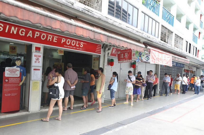 Some $142 million in prize money was left unclaimed in its last three financial years, a Singapore Pools spokesman said.