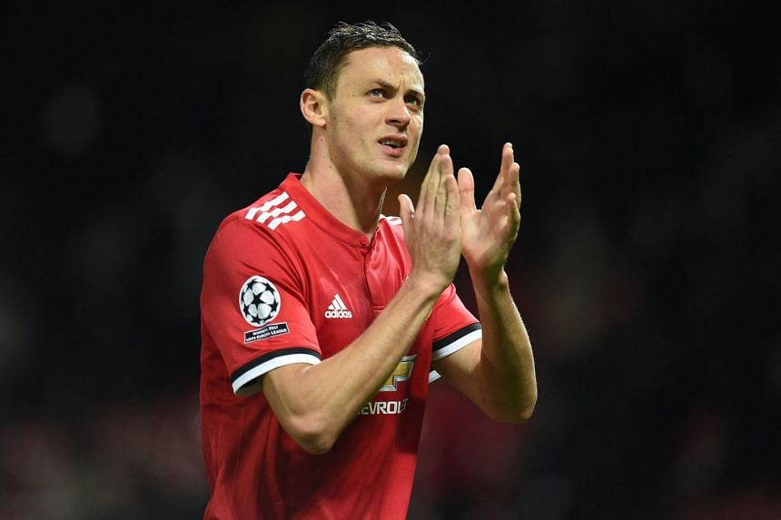 Matic (above) was substituted after 55 minutes of United's 4-2 win at Watford with a muscular problem.