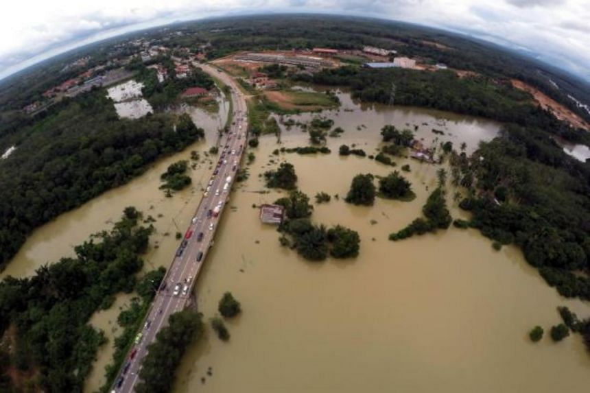 Over 14,000 people are taking shelter at Kelantan's relief centres on Dec 1.