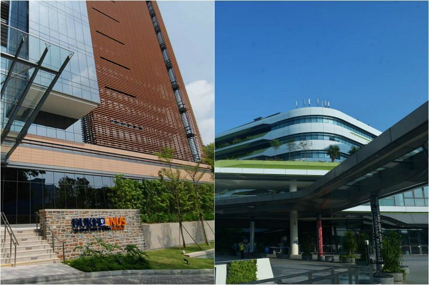 The Singapore University of Technology and Design (SUTD) (right) will partner Duke-NUS Medical School to offer an SUTD-Duke-NUS Special Track.