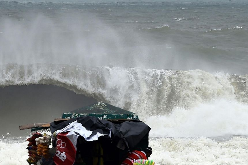 A major storm left three dead, two missing and more than a dozen injured across Sri Lanka on Nov 30, 2017.
