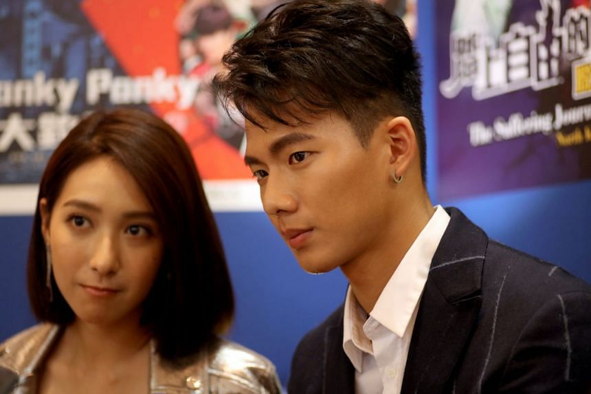 Actor Wu Nien-hsuan and actress Yang Ching were in Singapore to promote Taiwanese drama Age Of Rebellion.