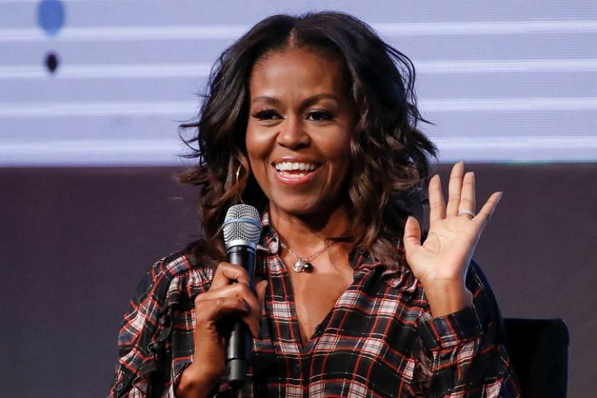 'FORMER UNITED STATES FIRST LADY MICHELLE OBAMA on how to live in the tumultuous Trump era.