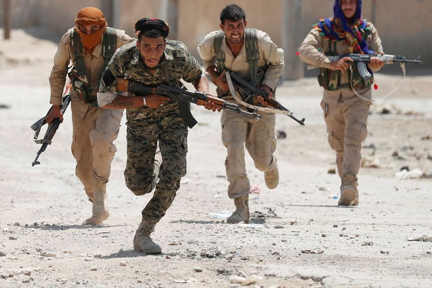 The United States expects to recover heavy weapons and larger vehicles from the People's Protection Units (YPG), but lighter weapons are unlikely to be completely recovered.