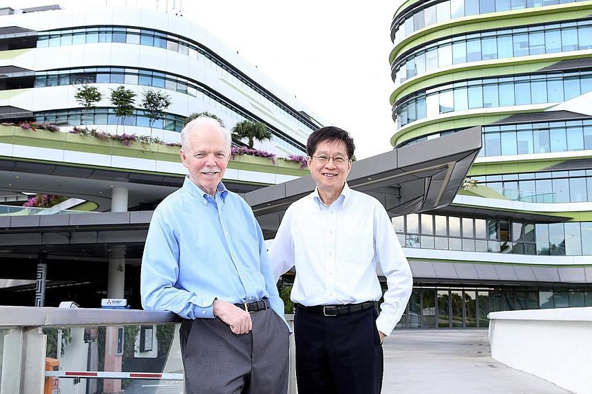 "Singapore University of Technology and Design president Thomas Magnanti is stepping down on Dec 31 after an eight-year term, and provost Chong Tow Chong will be the acting president. Professor Chong says SUTD's next phase will be ""big and bold"", in v"