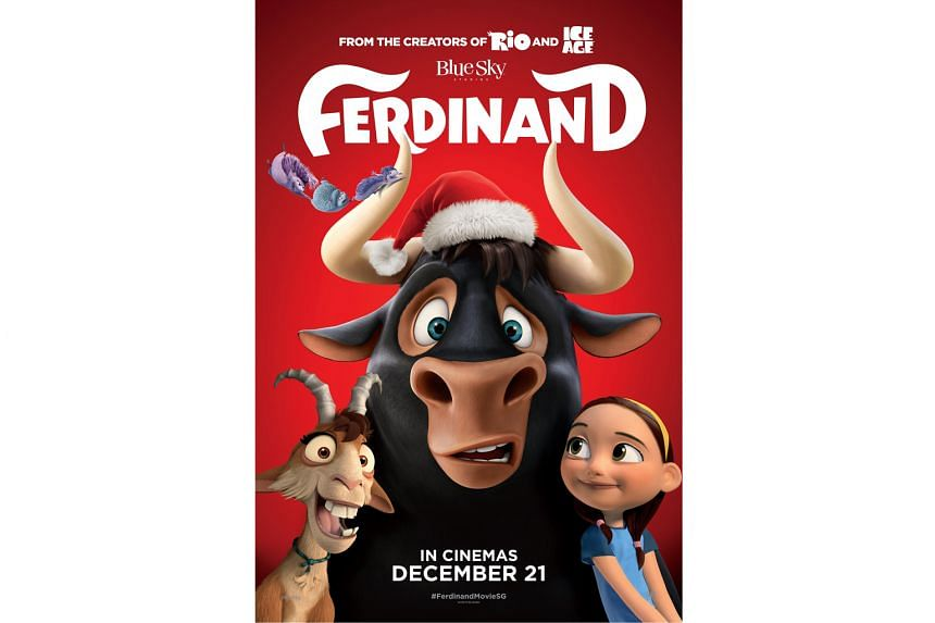 Straits Times subscribers stand to win tickets to a movie screening of Ferdinand in a contest via the SPH Rewards app.