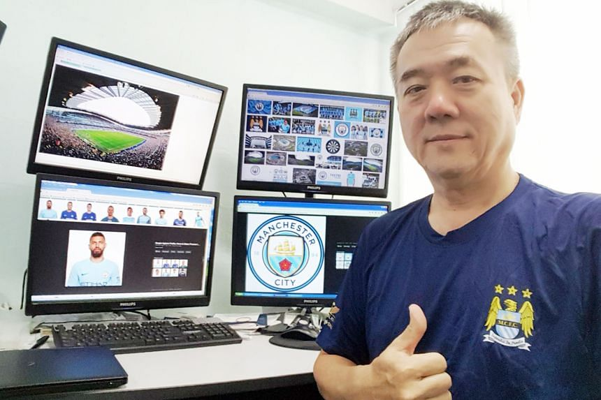 City fan Kee Siak Hooi is looking forward to watching the team live at the Etihad and in particular Argentinian striker Sergio Aguero.