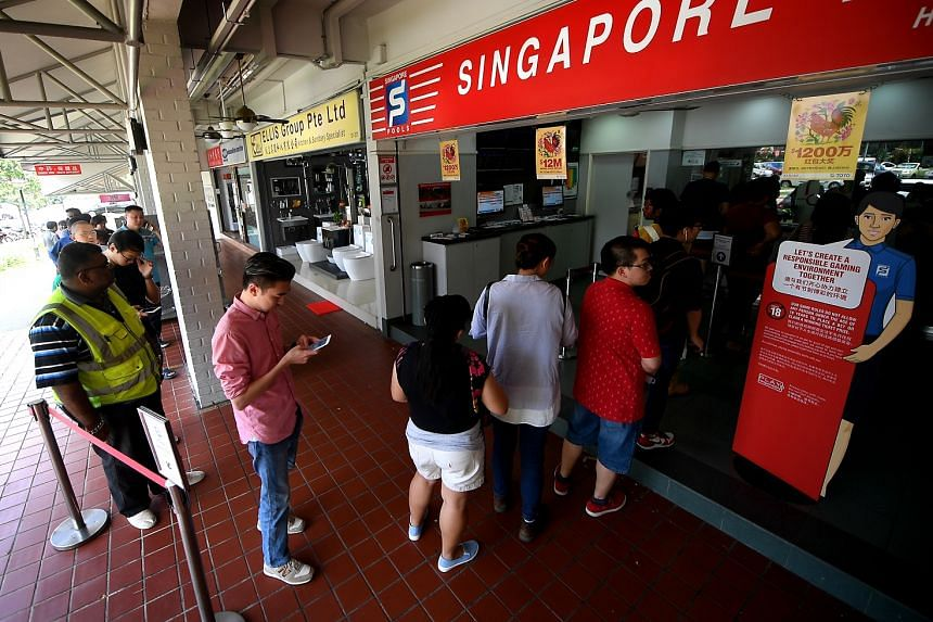 In the Singapore Totalisator Board's annual report released last week, about $21 billion in bets was waged on lotteries and sports betting over its last three financial years.