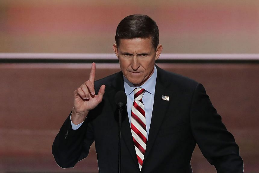 Former US national security adviser Michael Flynn admitted to giving false statements to the FBI in January.